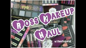 ross makeup haul swatches you