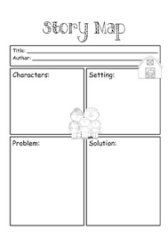 Story Map Template Story Map Template By Little Miss Cupcake Teachers Pay Teachers