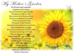 funeral poems for mother poems about