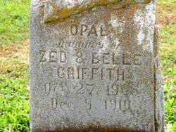 Opal Griffith (1908-1910) - Find A Grave Memorial