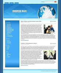 Blog Website Templates Interesting Blog Website Template Blogspot Templates Psd Free Download