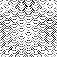 Pattern Vector Enchanting Seamless Fish Scale Pattern Vector Free Vector In Adobe