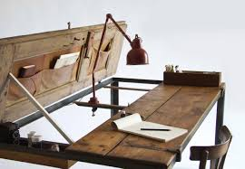 view in gallery sustainablehomedecorupcycledfurniturecupboarddeskjpg cool wood desk ideas e43 desk