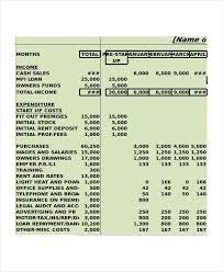 Cash Flow Calculation Excel Cash Flow Excel Template 13 Free Excels Download Free