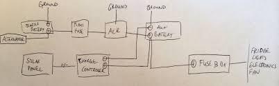 fantastic fan wiring diagram fantastic image electrical system sprinter van diaries on fantastic fan wiring diagram