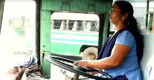 Asias First Woman Bus Driver Vasanthakumari Still Drives At 57