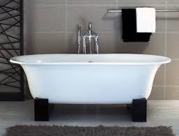 elegant modern stand alone bathtubs bathroom fantastic asia freestanding bathtub with black resin