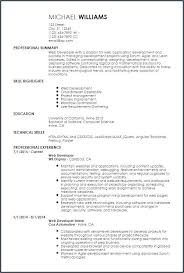 Entry-Level-Web-Developer-Resume-52Skill Resume Free Software ...