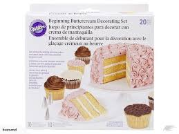 Wilton 20 Piece Buttercream Basics Decorating Set Cake Decorating