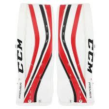 Ccm Leg Pad Sizing Chart Ccm Premier Pro Senior Goalie Leg Pads