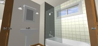 bathtub walls with window ideas