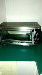 black decker convection toaster oven and extra wide 8 slice cto6335s