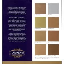 Ardenbrite Colour Chart Jacksons Art Supplies