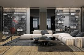 interior design furniture minimalism industrial design. Contemporary Grey Nuance House Design Interior Ideas Can Be Decor With White Sofas On The Furniture Minimalism Industrial E