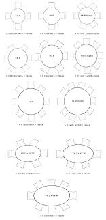 8 person dining table dimensions round table size for 6 person round table size for 6