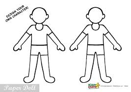 Print out several copies of the same dress to create one in every color! Free Printable Uniformed Paper Dolls Activity For Kids Doctors And Nurses
