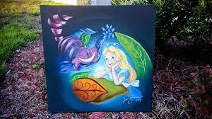 alice in wonderland painting i