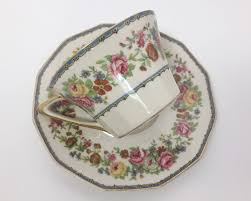 Decorating With Teacups And Saucers Pretty Floral Charles Field Haviland Limoges Teacup and Saucer 56
