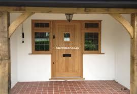 exterior oak doors uk. european oak door with side windows exterior doors uk