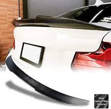 Exterior Automotive Carbon Fiber <b>Rear Trunk Spoiler</b> Wing Lip for ...