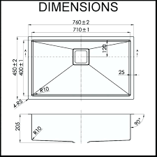kitchen sink dimensions. Standard Kitchen Sink Dimensions Size Sizes .