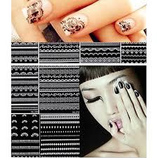 611 30 Pcs 3d Samolepky Na Nehty Nail Art Manikúra Pedikúra Módní Denní 3d Nálepky Na Nehty