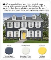 yellow brick house red door. wonderful yellow brick house red door with best 10 blue exteriors ideas on pinterest
