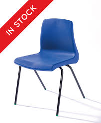 school chairs. Exellent School In Stock NP Classroom Chair In Blue With Black Frame On School Chairs 6