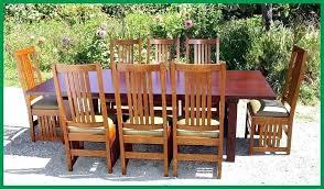 craftsman style dining table craftsman style dining room furniture mission dining room set craftsman mission oak