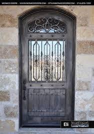 iron front doorsiron front door  Monaco Doors