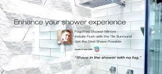 lighted shower mirror shower mirror for shaving new lighted shower mirror for shaving in the shower lighted shower mirror