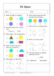 Three Dimensional Shapes Worksheets Worksheet 2 Know Your Grade Two ...