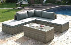 outdoor patio and backyard medium size furniture patio sectional small outdoor sofa clearance sofas and sectionals