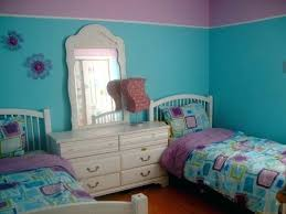 Decoration: Turquoise Girls Room Decorating Ideas Aqua And Purple Bedroom  For My 6 Years Old