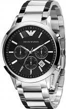"watch up to 50% off designer watches watch shop comâ""¢ mens emporio armani chronograph watch ar2434 emporio armani men s chronograph"