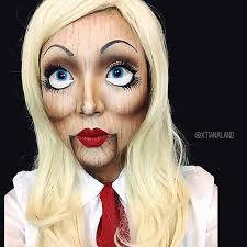 excellent doll face paint makeup extreme doll face face and dolls