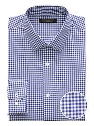 Camden Standard Fit Non Iron Gingham Dress Shirt