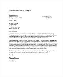 Example Of Nursing Cover Letters Cover Letter Good Example Graduate Nurse Cover Letter Example Cover