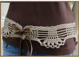 Crochet Belt Pattern Awesome Decorating
