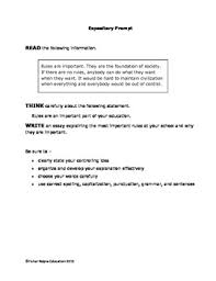 8th Grade Essay Prompts Expository Writing Prompts Grade 6 8 Staar And Cc Aligned