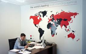 Graphic designers office Frustrated Phmg Office Wall Graphics Team Vision Marketing Custom Vinyl Wall Graphics Vinyl Cut Lettering Decals Cushing