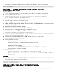 ideas of mep engineer resume sample for your service gallery