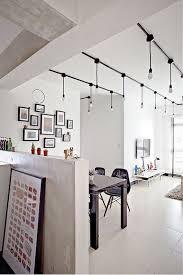track lighting in kitchen. industrial track lighting in kitchen