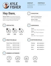 Free Creative Resume Templates Infographic Resume Template Venngage