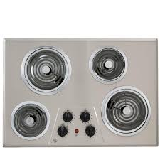 electric range top. Coil Electric Cooktop In White With 4 Elements-JP328WKWW - The Home Depot Range Top