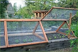 vegetable garden fence ideas raised