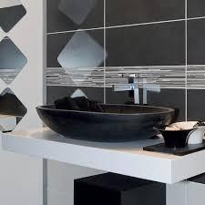Lavabo da appoggio ovale in basalto nero per bagno riau
