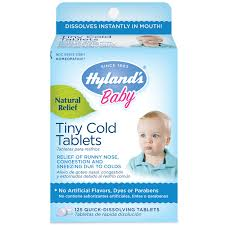 Hylands Baby Tiny Cold Tablets 6 Months 125 Quick