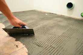 how to lay porcelain tile on concrete floor how to install porcelain tile on concrete basement