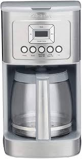 Cuisinart burr grind & brew coffee maker with thermal carafe. Amazon Com Cuisinart Dcc 3200 Programmable Coffeemaker With Glass Carafe And Stainless Steel Handle 14 Cup Light Grey Kitchen Dining